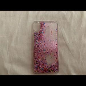 iPhone XS MAX waterfall glitter